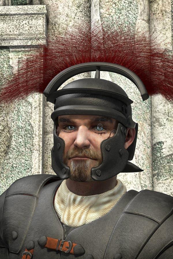 罗马百人队队长退伍军人 库存例证