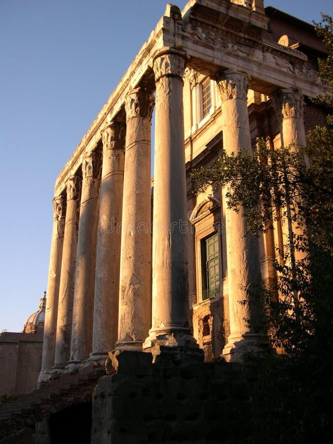 罗马的万神殿 免版税库存图片