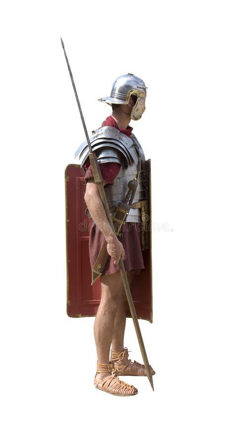 罗马的军团 免版税库存照片