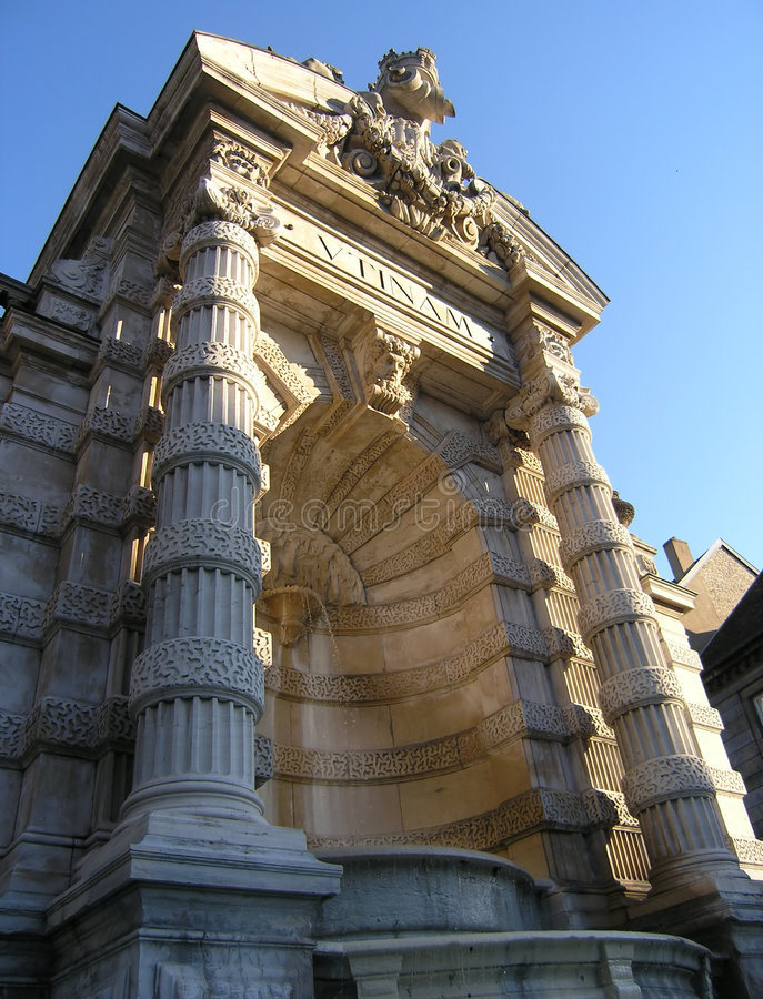 罗马的喷泉 免版税库存图片