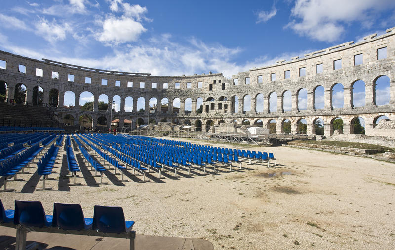罗马的圆形剧场 库存照片