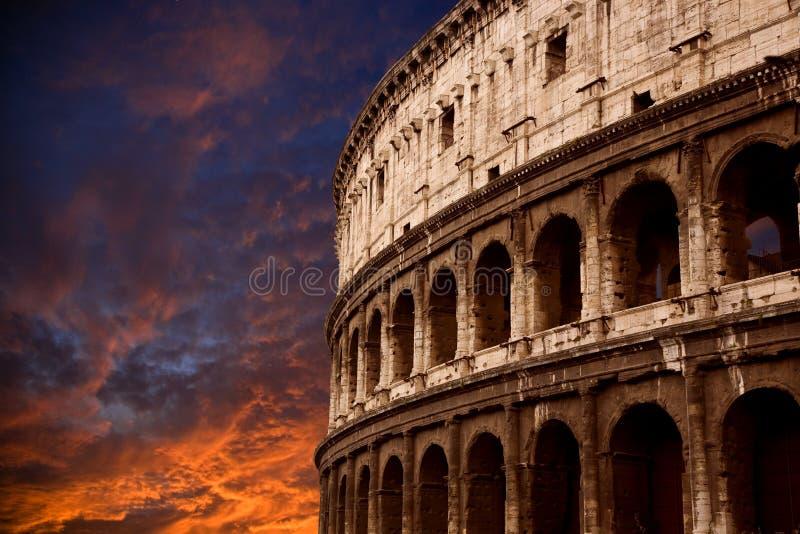 罗马的大剧场 库存图片