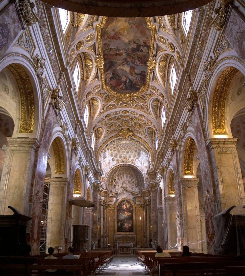 罗马的教会 免版税库存照片
