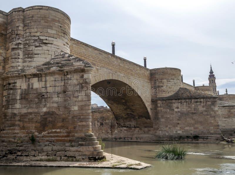 罗马的桥梁 图库摄影