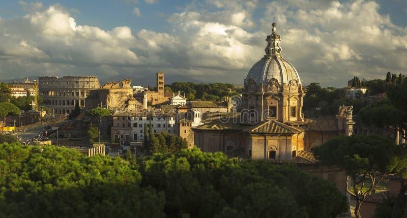 罗马的论坛 库存照片