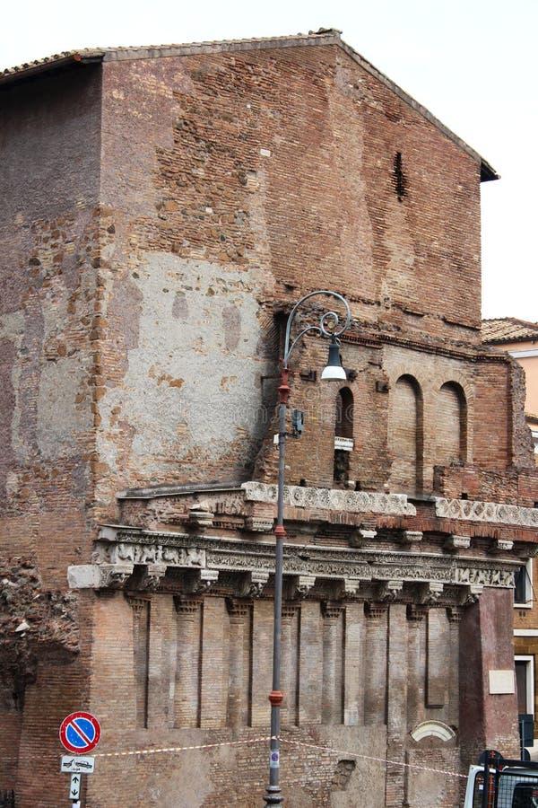 罗马罗马废墟 免版税图库摄影