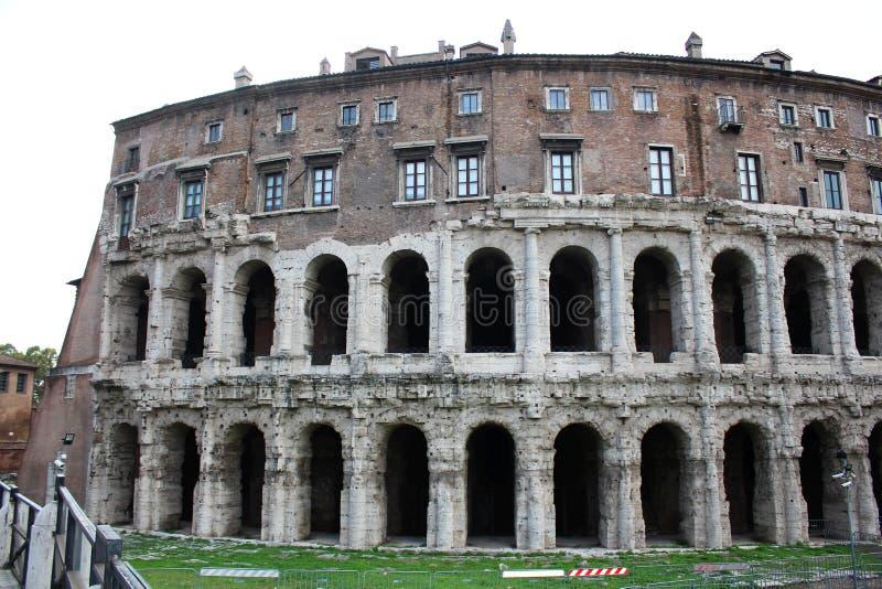 罗马罗马废墟 免版税库存照片