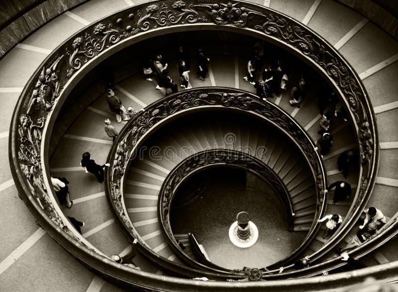 罗马螺旋 免版税图库摄影