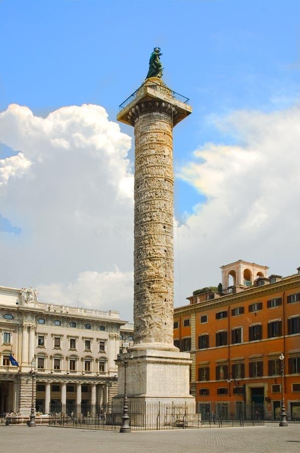 罗马论坛列 库存照片