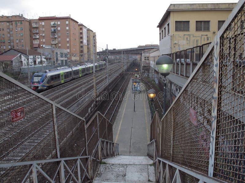 罗马铁路设备 免版税库存图片