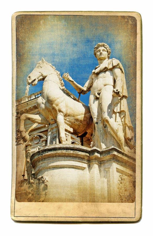 罗马雕塑 免版税库存图片