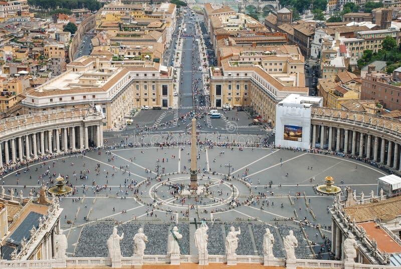 罗马鸟瞰图 库存照片