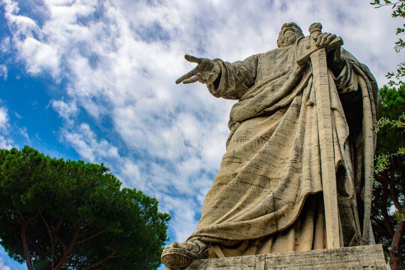 罗马,圣皮特圣徒・彼得和保罗Eur basillica  图库摄影