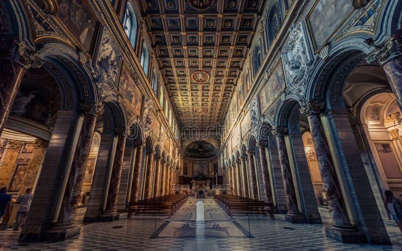 罗马,意大利-印象深刻的风景 库存照片