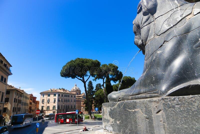 罗马-意大利的游人 免版税图库摄影