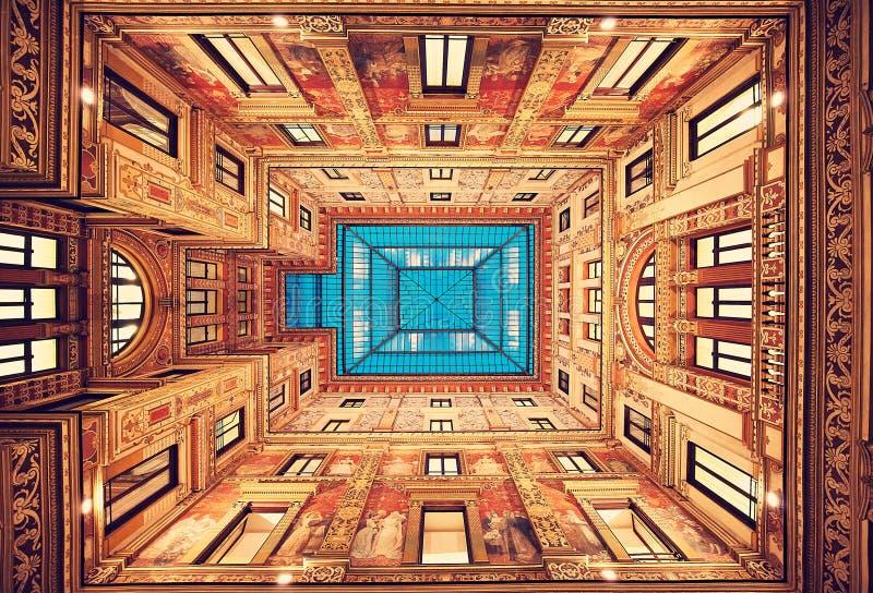罗马 意大利 完善的古典装饰 图库摄影