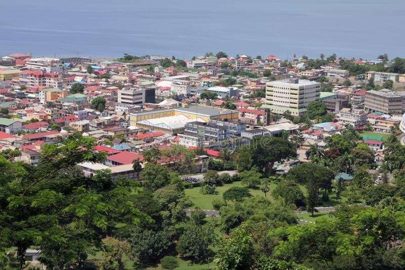 罗索多米尼加 免版税库存照片