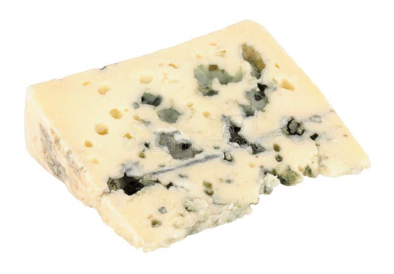 羊乳干酪乳酪楔子 免版税库存照片