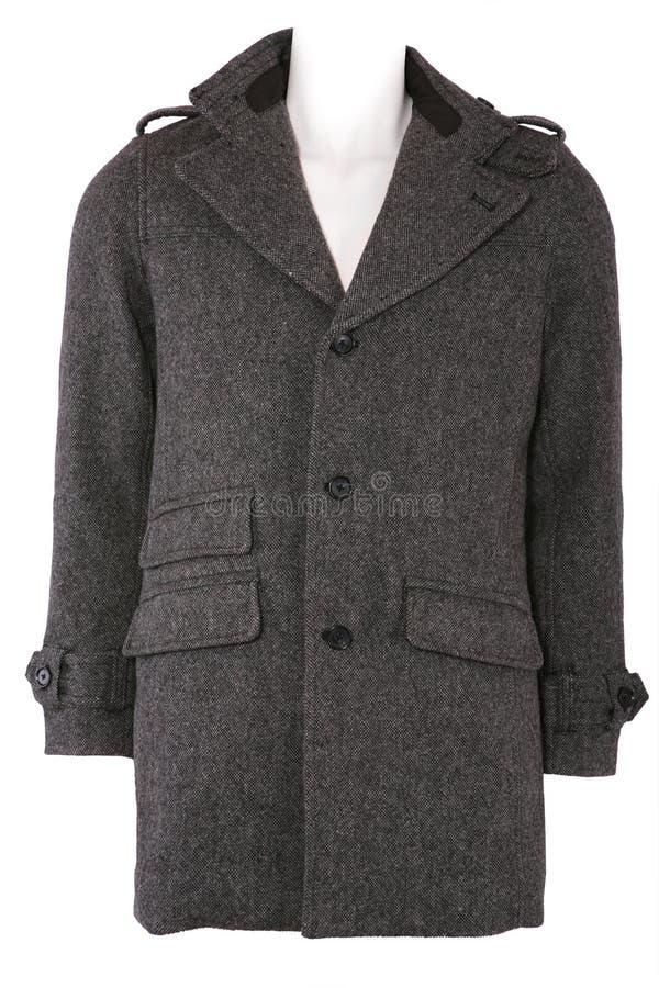 羊毛外套的冬天 图库摄影