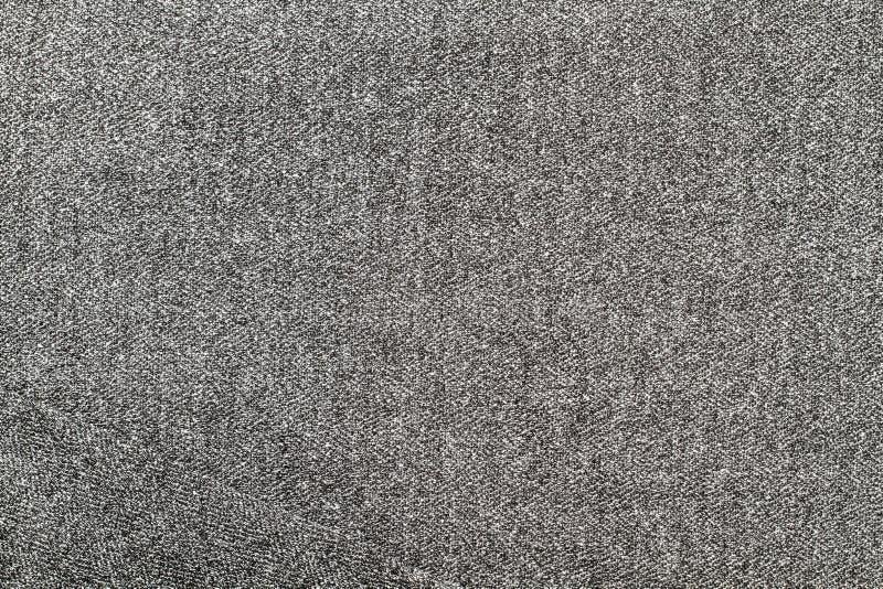 羊毛灰色纹理 图库摄影