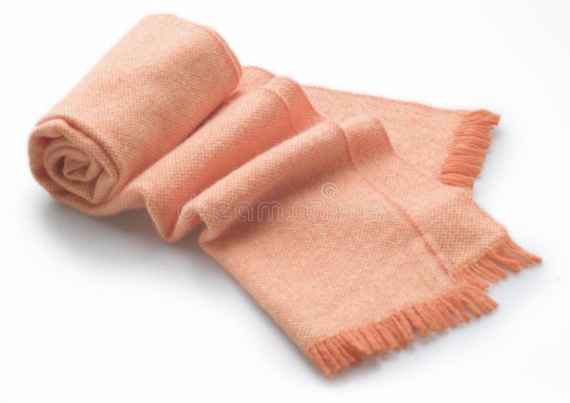 羊毛的围巾 免版税库存图片