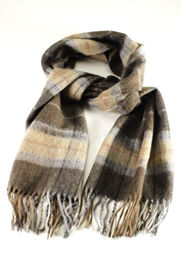 羊毛的围巾 免版税库存照片