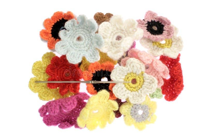 羊毛的花 免版税图库摄影