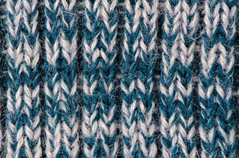 羊毛编织的纹理 库存图片