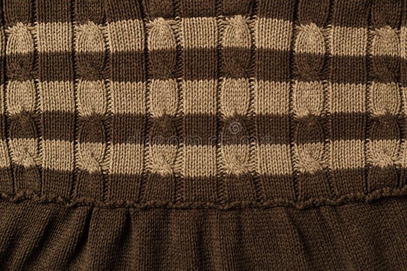 羊毛衣物纹理 库存照片