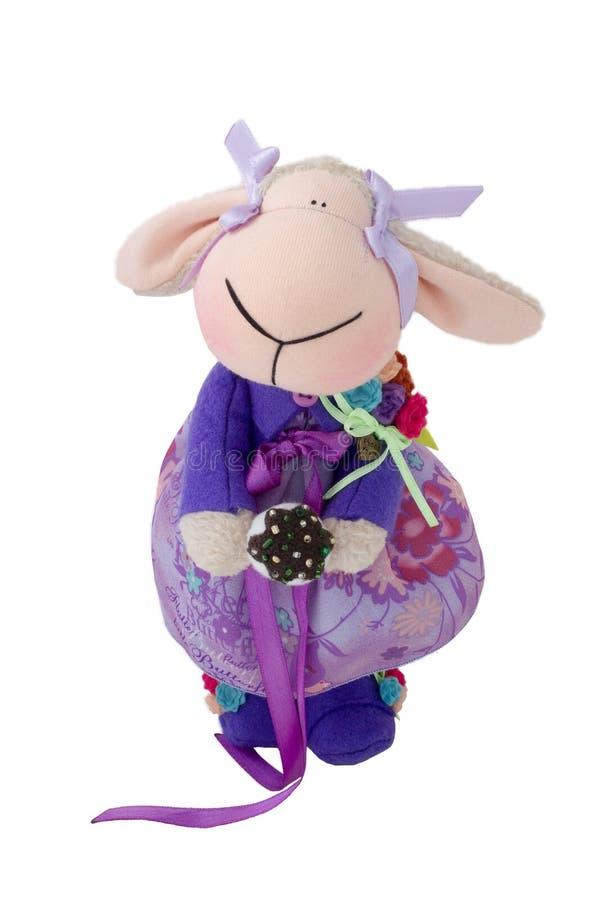 绵羊玩具 库存图片