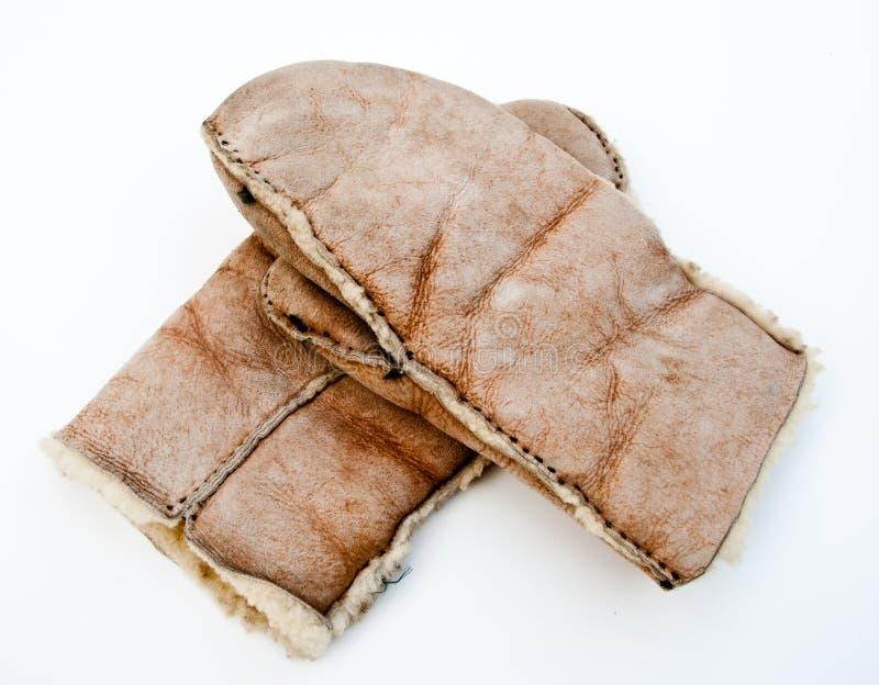 羊皮手套 图库摄影
