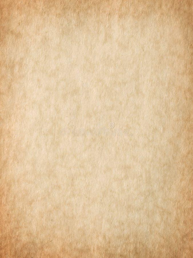 羊皮纸纹理 免版税库存照片