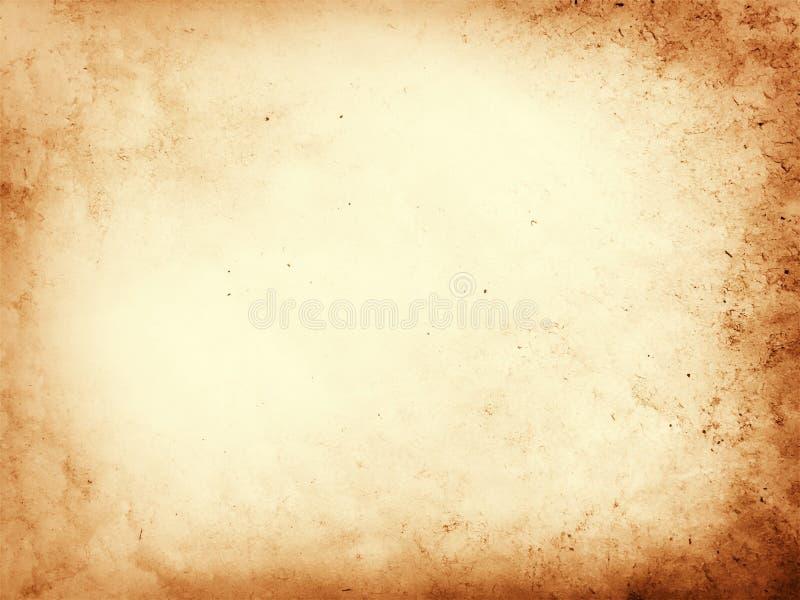 羊皮纸背景 免版税库存图片