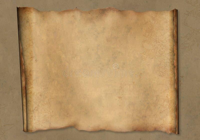 羊皮纸 库存例证