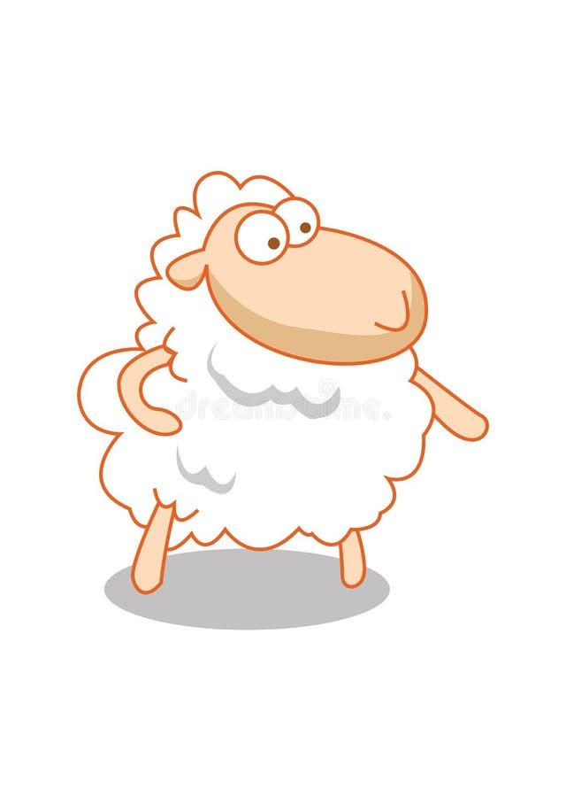 羊羔一点 免版税库存图片
