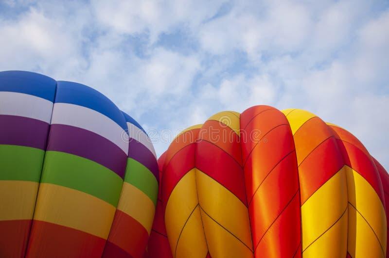 美丽多彩的热空气Baloon-28 免版税库存照片