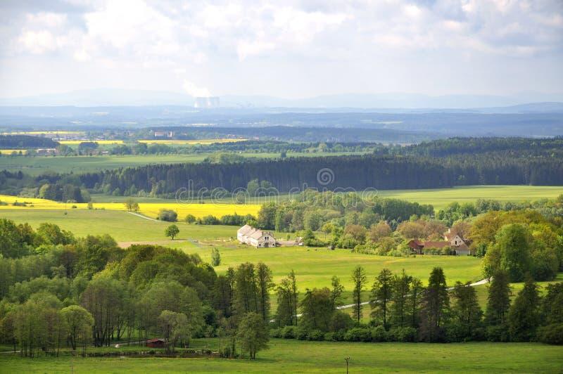 美丽如画的村庄 免版税库存图片