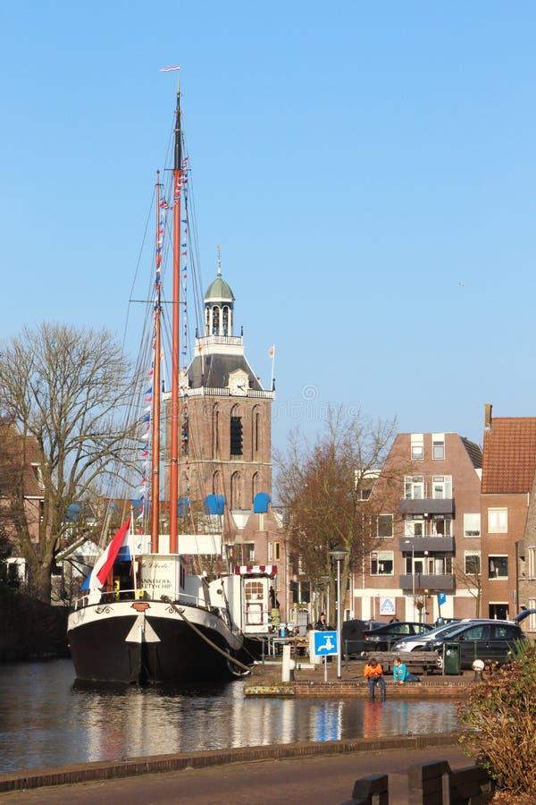 美丽如画的梅珀尔在荷兰 免版税库存照片