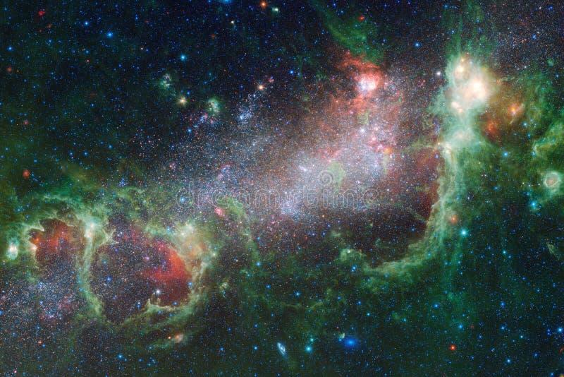 美丽宇宙 美国航空航天局装备的这个图象的元素 免版税库存照片