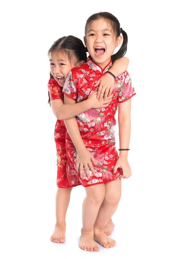 美丽的东方亚裔女孩 库存图片