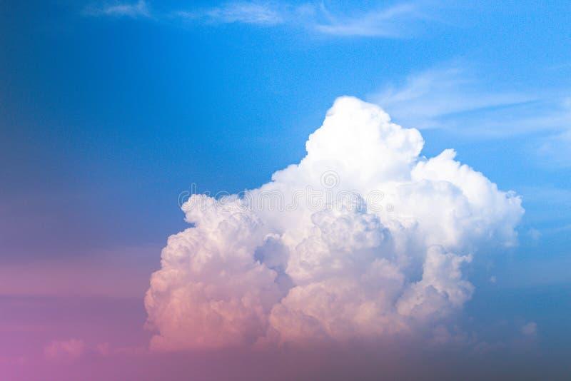 美丽的云彩天空 库存图片