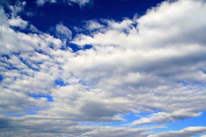 美丽的云彩 免版税库存照片