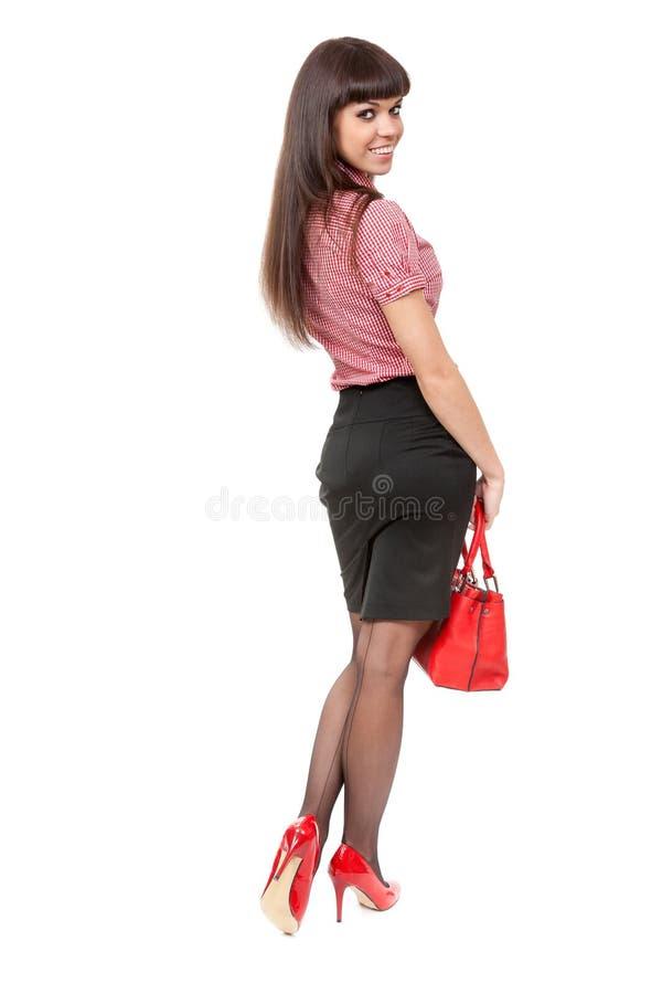 美丽的亭亭玉立的女孩 免版税库存图片