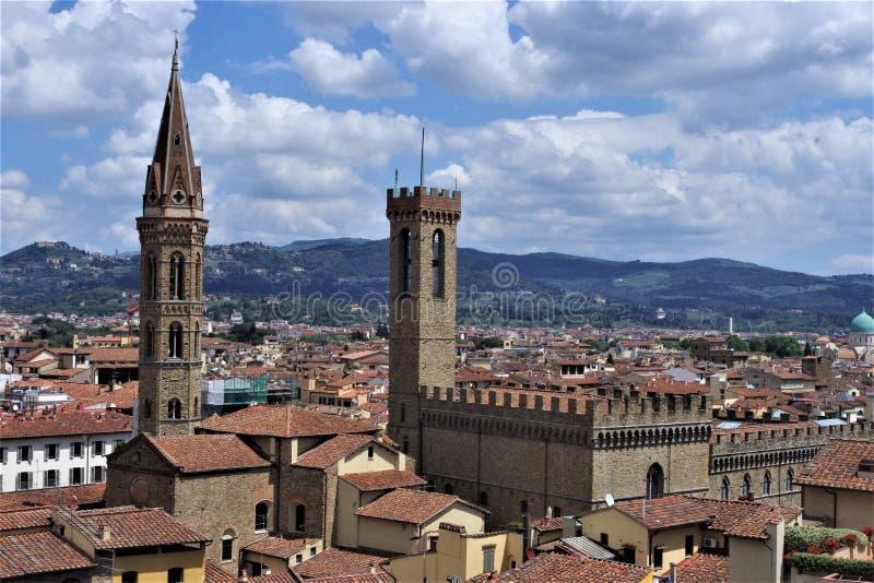美丽的佛罗伦萨看法  免版税库存图片