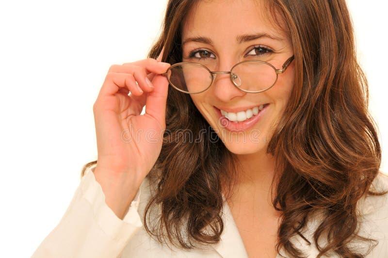 美丽的医生妇女年轻人 免版税图库摄影