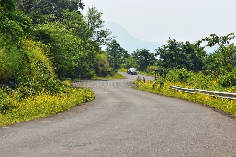 美丽的印地安路 库存照片