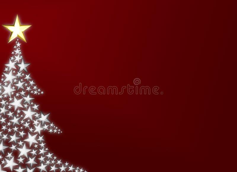 美丽的圣诞树 库存照片