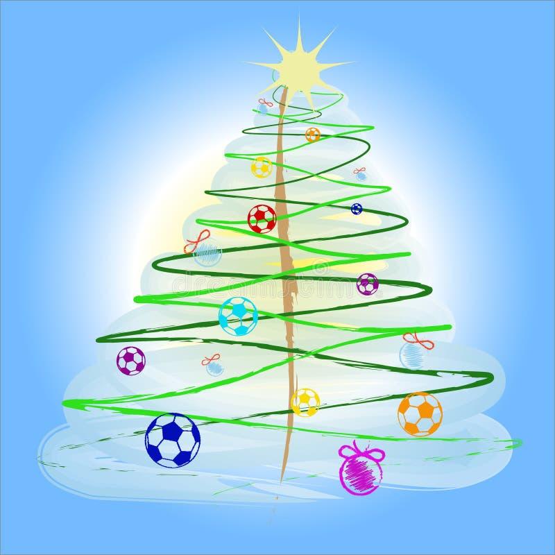 美丽的圣诞树 免版税图库摄影