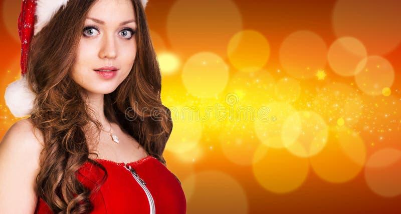 Download 美丽的圣诞老人女孩 库存图片. 图片 包括有 魅力, 装饰, 对象, 背包, 有吸引力的, 要素, 设计 - 62525241
