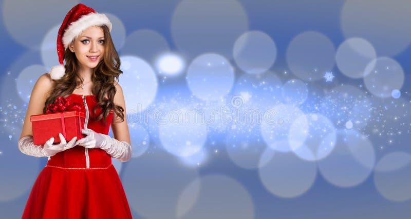 Download 美丽的圣诞老人女孩 库存照片. 图片 包括有 庆祝, 照亮, 尘土, 克劳斯, 成象, beautifuler - 62525314